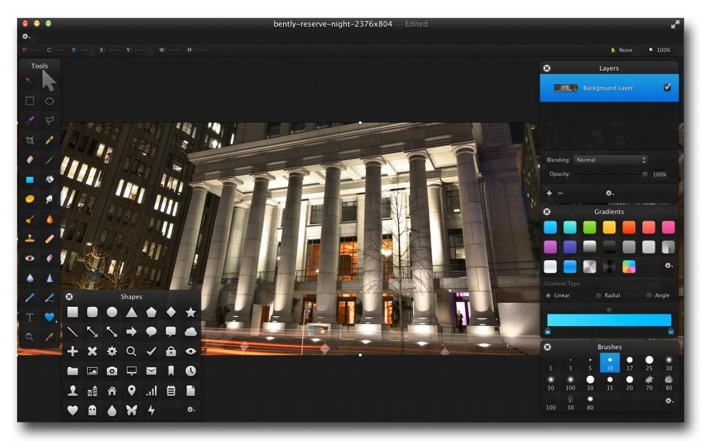 Pixelmator, una buena alternativa pero solo para Mac.