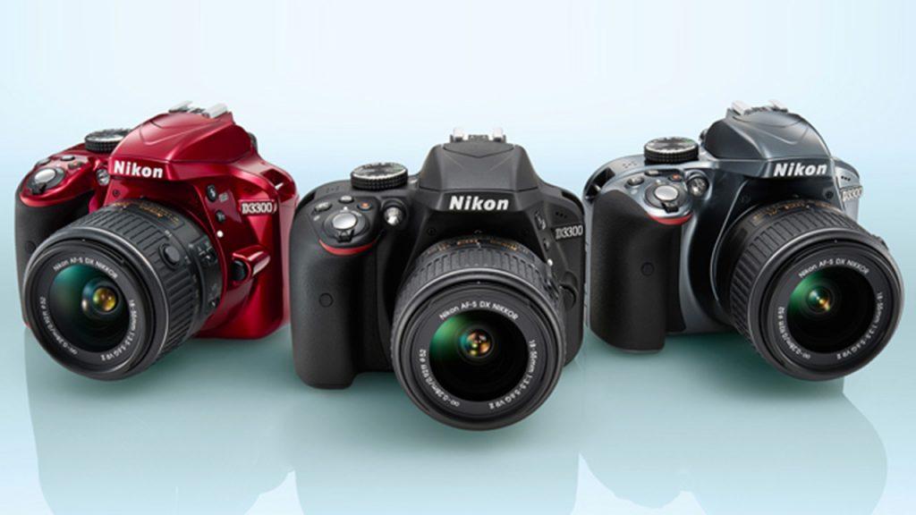 Nikon d3300 colores