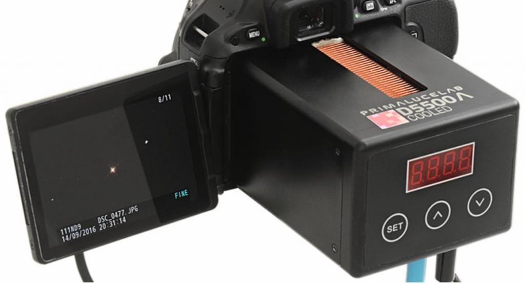 Nikon D5500 astrofotografia