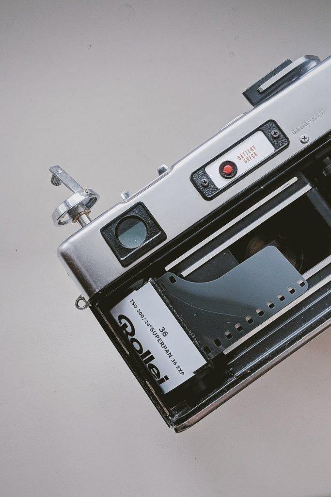 Sistema de arrastre de la película.