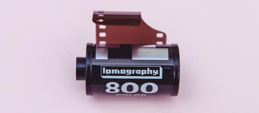 Carrete de película de 800 Asas