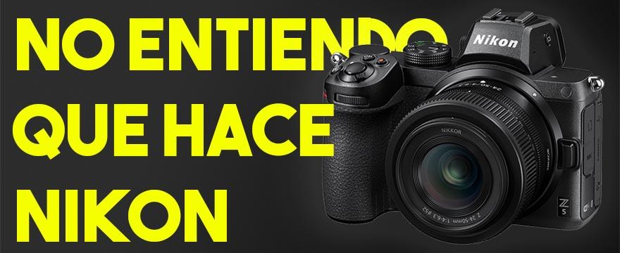No entiendo que hace Nikon