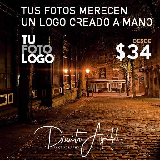 Tus fotos merecen un logo creado a mano, encarga hoy el tuyo en tufotologo.com